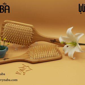برس چوبی بامبو برندNABA